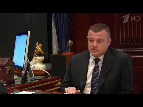 Дмитрий Медведев встретился с главой администрации Тамбовской области Александром Никитиным.