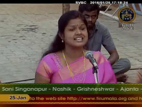 Yaare Rangana   SVBC TTD Sahasra Deepalankarana Seva 25 01 16