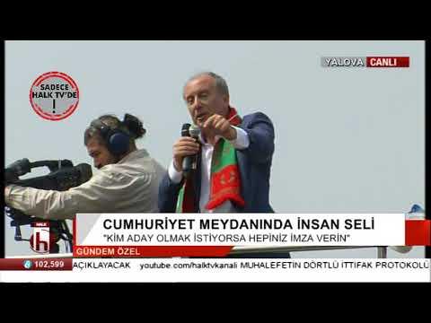 Muharrem İnce'den Erdoğan'a sert...