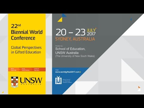 22nd Biennial World Conference: Global Perspectives in Gifted Education