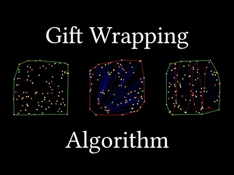 Gift Wrapping Algorithm (Convex Hull)