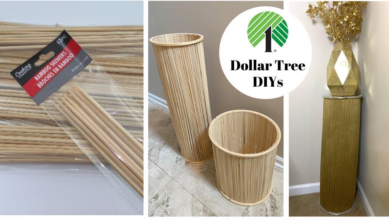 elegant home decor with 1 bamboo skewers amazing dollar tree diys