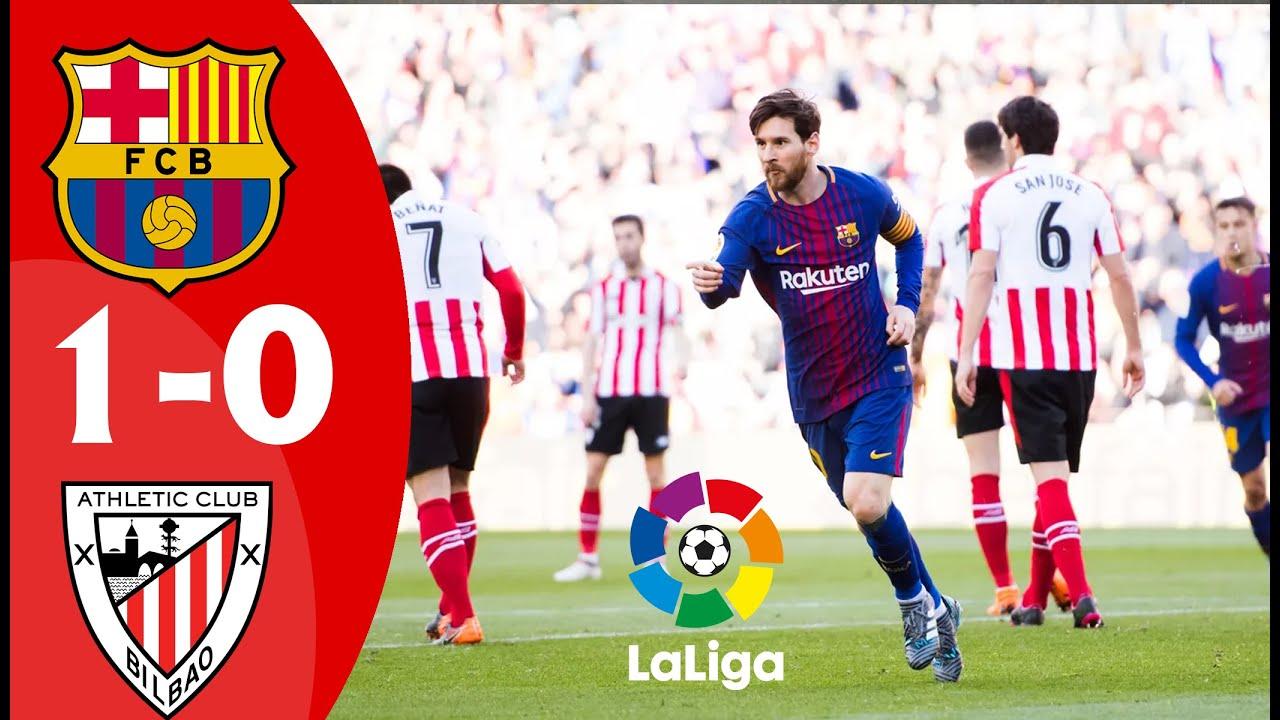 Barcelona vs Athletic Club | Full Match LIVE | La Liga ...