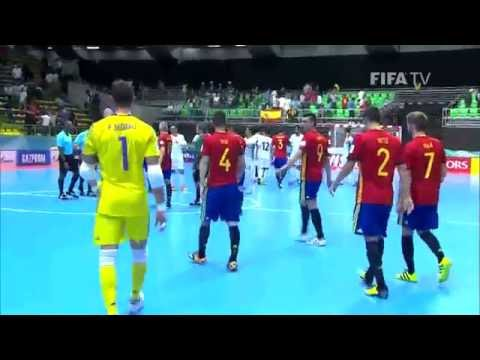 Match 11: Iran v Spain - FIFA Futsal World Cup 2016