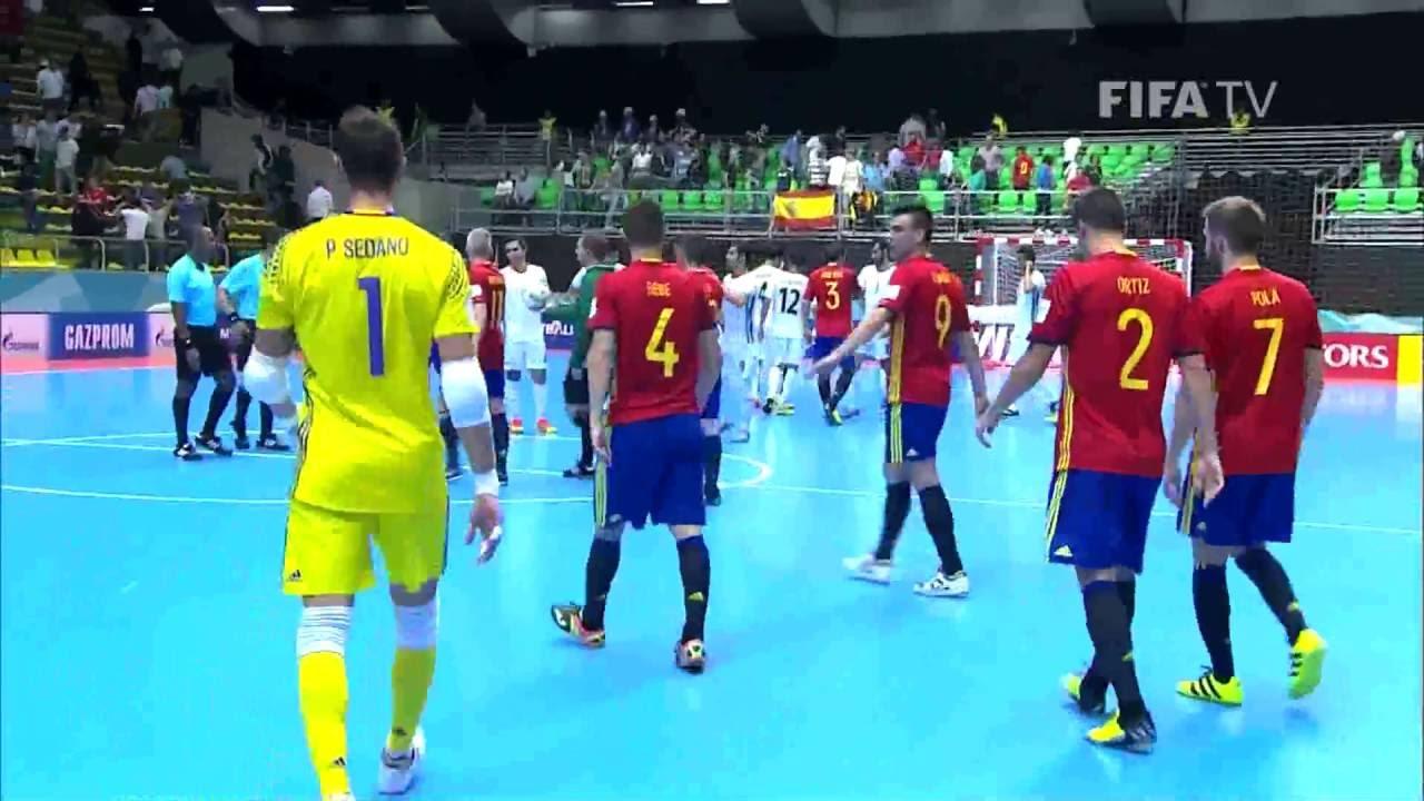 Video: Futsal Iran vs Futsal Tây Ban Nha