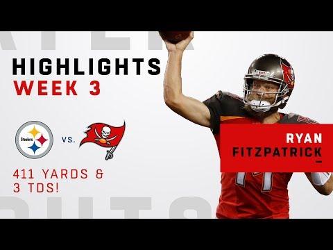 Fitzpatrick's Comeback Falls Short w/ 411 Yards & 3 TDs