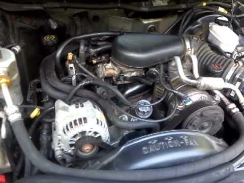 99 Bravada 43 vortec engine noise  YouTube