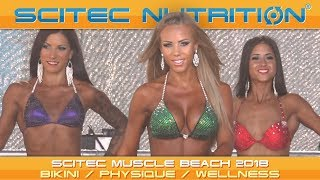 Scitec Muscle Beach 2018 – Bikini/Physique/Wellness