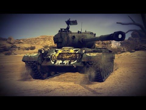 "Новый M46 ""Tiger"" - ""Жарим ТОП"" | War Thunder"
