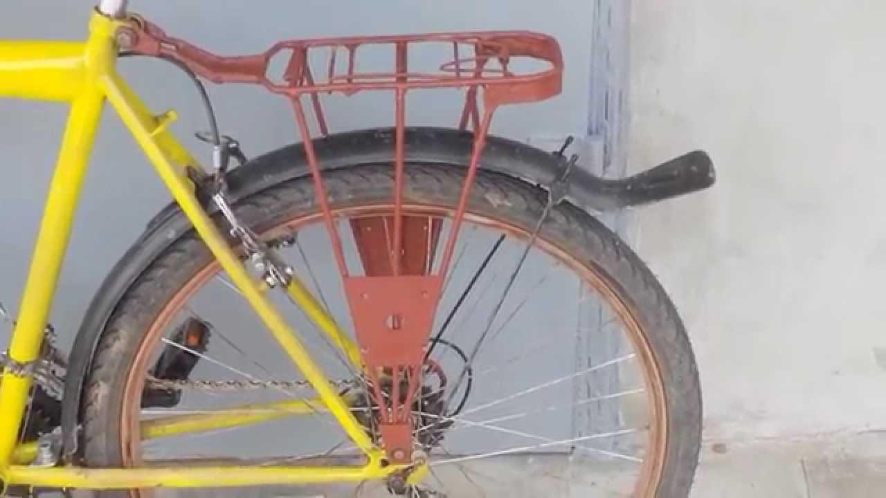 Багажник на велосипед своими руками 745