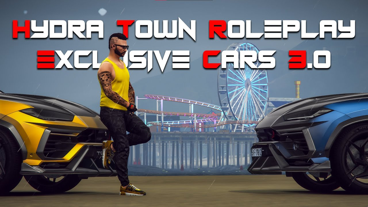 Exclusive Cars Pack 3.0 | Hydra Town Roleplay | GTA V Roleplay Server