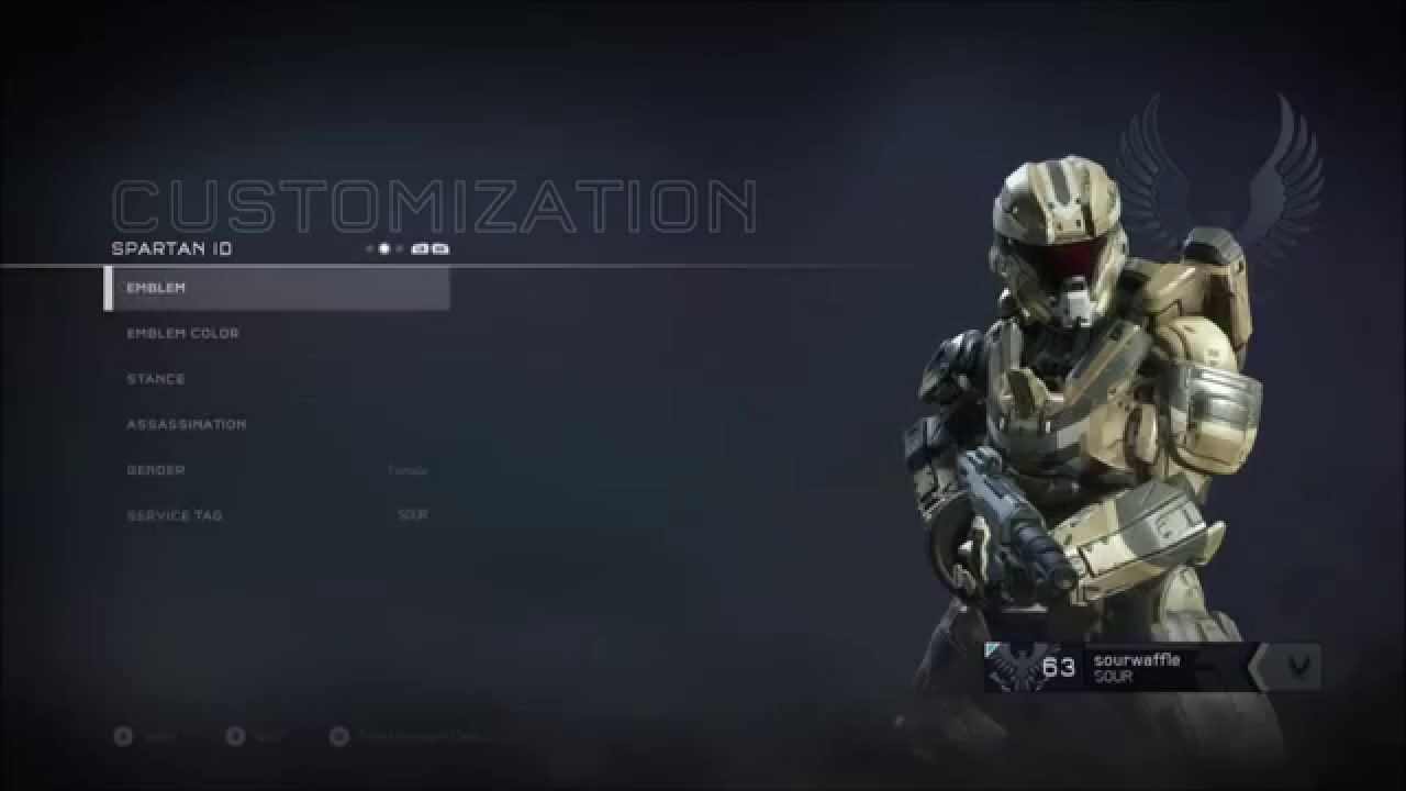 Halo 5 Ultra Rare Spartan Iv Emblem Mastering All Unsc Weapons