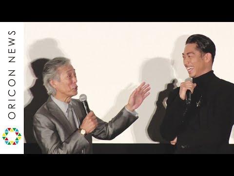 AKIRA、岩城滉一のツッコミに苦笑「スケベだから髪の毛が伸びるのが早い」 映画『HiGH&LOW THE MOVIE 3/FINAL MISSION』初日舞台あいさつ