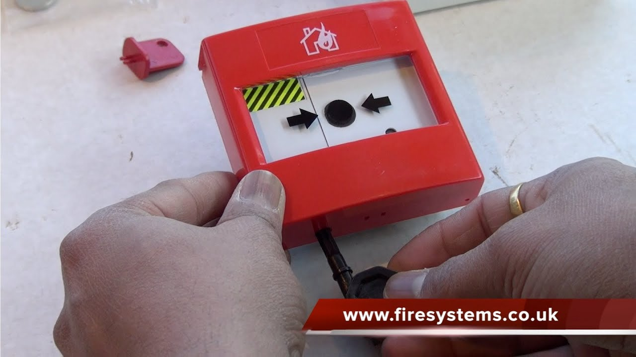 Resetting A Fire Alarm Manual Call Point Youtube