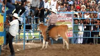 Filomeno Mata, Ver. Jaripeo Feria Patronal Santo Domingo Ago10