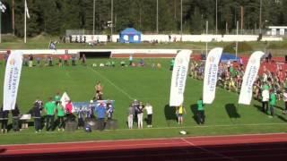 Vattenfall final 2015 i Varkaus masstafett 16x60 m mixed