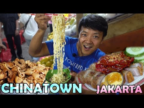 CHINESE Street Food! Exploring CHINATOWN in Jakarta Indonesia Food Tour video screenshot
