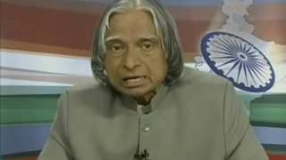 President of India Dr. APJ Abdul Kalam about human values on the eve of independence day, 2006