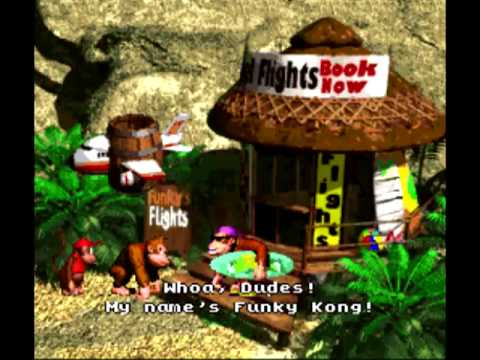 Funky Flights 10 Hours - Donkey Kong Country