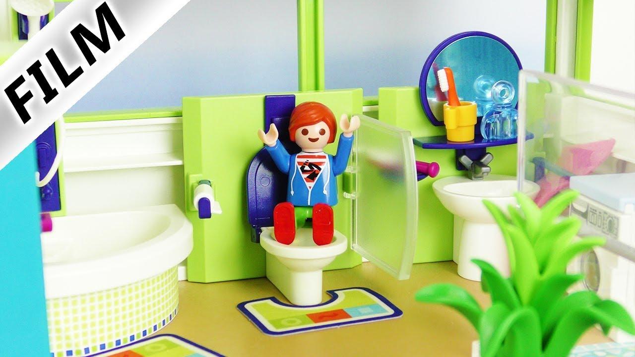 Playmobil video Nederlands - NIEUWE BADKAMER VOOR FAMILIE VOGEL ...