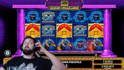 BIG BET SPINS bei Legend of the Pharaohs: 3 Pyramiden in Freispiele | CasinoTest24 Stream Highlights