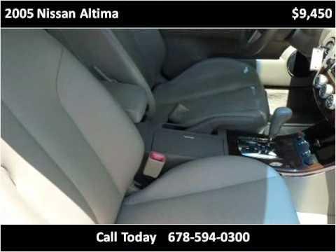 Brandt Auto Brokers - Atlanta Used Cars -- 2005 Nissan Altima SL - Marietta GA 30062