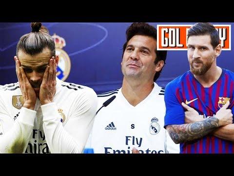 Reclamo de Solari a Gareth Bale I Messi es descartado para Champions League