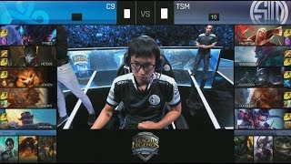 [EPIC] C9 (Impact Gnar) VS TSM (Doublelift Lucian) Game 4 Highlights - 2016 NA LCS Summer Final