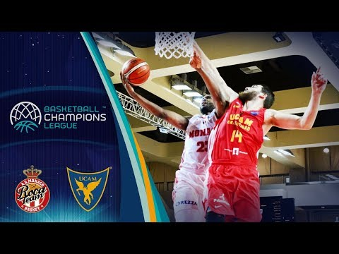 AS Monaco v UCAM Murcia - Full Game - Basketball Champions League 2017-18