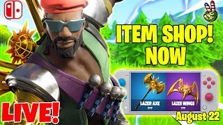 Fortnite Switch Player! // ITEM SHOP August 22, 2019 // (Fortnite Battle Royale LIVE)