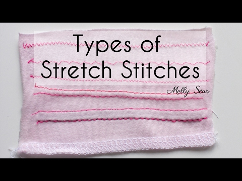 Stretch Stitches - How To Sew Knits
