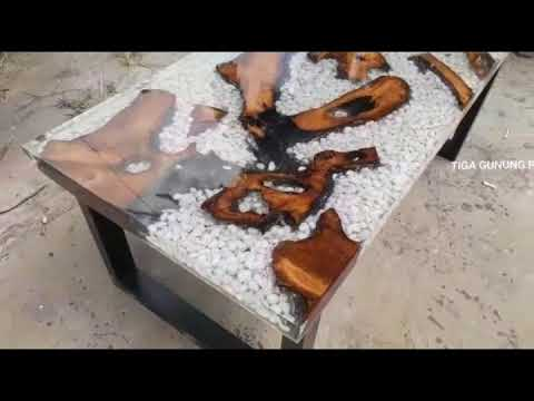 River Table Epoxy Table Resin Table Meja Resin Marbel Resin From Indonesia