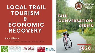 Local Trail Tourism and Economic Recovery with Amy Allison | Fall Conversation Series 2020
