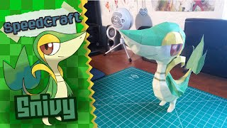 Pokemon Papercraft ~Snivy~