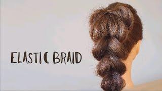 7 Как заплести косичку на резиночках Elastic braid