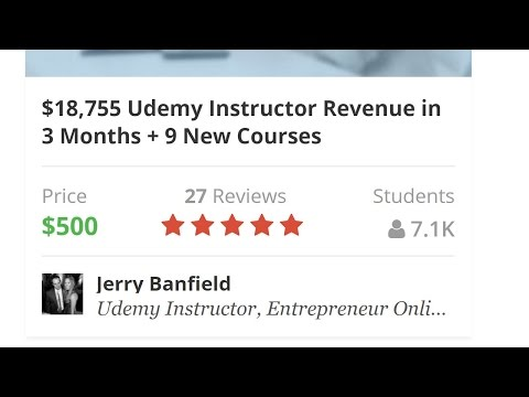 Udemy Online Teaching Success Course Story and Introduction - What is Udemy and How to Start?