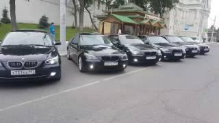 BMW 525 BLACK  СВАДЕБНЫЙ КОРТЕЖ В АСТРАХАНИ