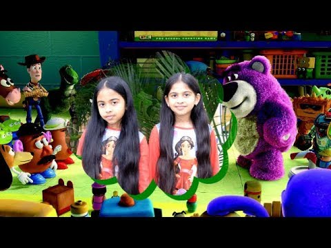 TOY HUNTING PART -2/FUNNY TWINS PARNIKA AND PANCHALI SHOW