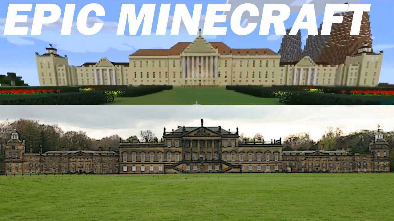 Perfect Minecraft Manor House Wentworth Woodhouse Inside Tour Part 3