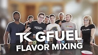 G FUEL Flavor Mixing with Team Kaliber
