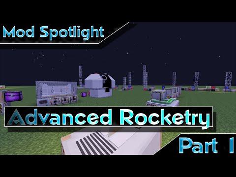 mod-spotlight---advanced-rocketry---part-1-||-the-basics,-holoprojector,-machines,-and-mulitblocks