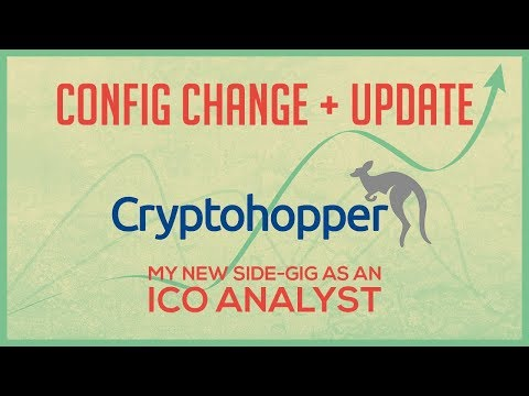 Cryptohopper Update and my new ICO Analyst Side-Gig - ICO Reviews