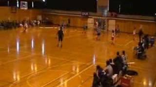 2007年12月16日(日)第16回福岡県学生ハンドボール選手権大会・女子、福岡大学 vs 福岡教育大学【後半】