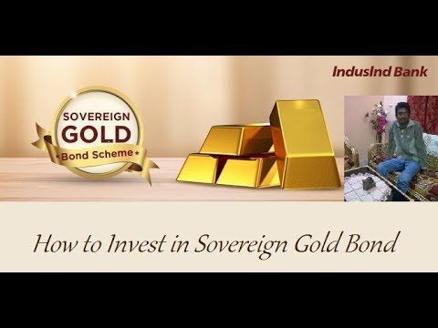 How to invest in Sovereign Gold Bond of Indusind Bank