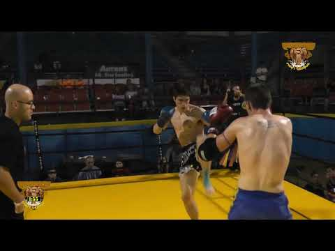 Full contact Muay Thai Matt Zilch vs Josh Marshall FFl 5 by Creative Universe