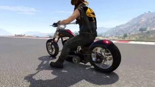 GTA Online New Biker DLC Speed Testing Avarus