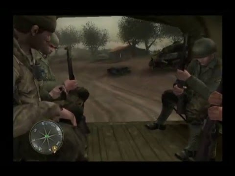 Call of Duty 3 PS2 Gameplay