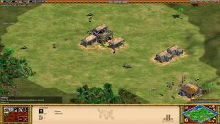 Age of Empires II 2013: Clan Xoxota 1v1 - A viadagem do rush de Torre!