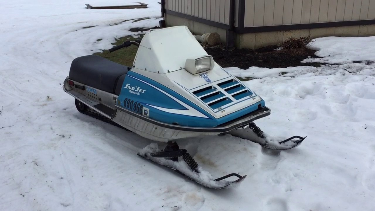 Kawasaki Snowmobile For Sale