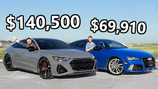 2021 Audi RS7 vs 2016 Audi RS7 // Serious Monster Meets Seriously Good Deal